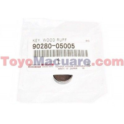 90280-05005 Cuña Cigüeñal Corolla, 4Runner, Camry, Fortuner, Hilux, Coaster, Dyna
