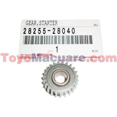 28255-28040 Engranaje Arranque Camry 01-05, Corolla 03-08, Fortuner, Hiace, 4Runner 03-08, Hilux, Previa 06-09, Yaris 09-09